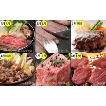 【定期便】 (12ヶ月連続お届け) 佐賀牛(毎月)12回お肉の定期便 25万円コース