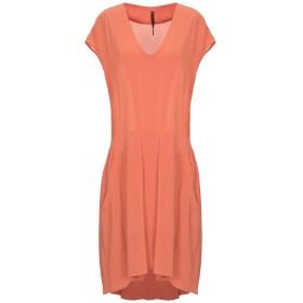 《セール開催中》MANILA GRACE レディース ミニワンピース&ドレス オレンジ 44 レーヨン 98% / ポリウレタン 2%