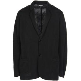 《セール開催中》EMPORIO ARMANI メンズ テーラードジャケット ブラック S ナイロン 59% / キュプラ 41%