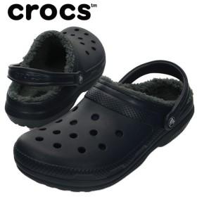 クロックス サンダル メンズ レディース classic lined clog クラッシック ラインド クロッグ 203591 459 crocs