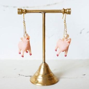 豚に真珠 (ピアス/イヤリング)