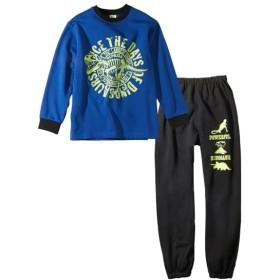 暗闇で光る!裏起毛プリントパジャマ(男の子 子供服。ジュニア服) キッズパジャマ