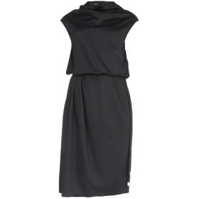 《セール開催中》MARC JACOBS レディース 7分丈ワンピース・ドレス ブラック 4 ポリエステル 100%