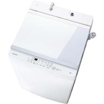 全自動洗濯機[ガラストップデザイン] ピュアホワイト [ノンインバータ/洗濯10.0kg] ★大型配送対象商品 AW-10M7-W