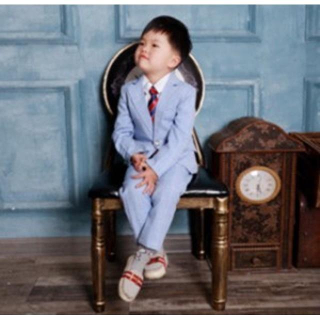 974206f6e911d 子供服 キッズ スーツ 男児 2点セット男の子 卒業式入学式 発表会七五三 ...