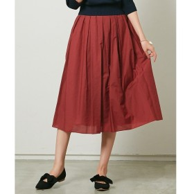 Rouge vif la cle / ルージュ・ヴィフ ラクレ Yangany タフタタック&ギャザースカート
