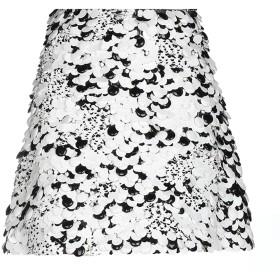 《期間限定 セール開催中》GIAMBATTISTA VALLI レディース ひざ丈スカート ホワイト 40 シルク 100%