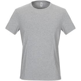 《期間限定セール開催中!》MOSCHINO メンズ アンダーTシャツ グレー XS 90% コットン 10% ポリウレタン
