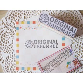 original handmade カップケーキ スタンプ はんこ 009 ハンドメイド品に