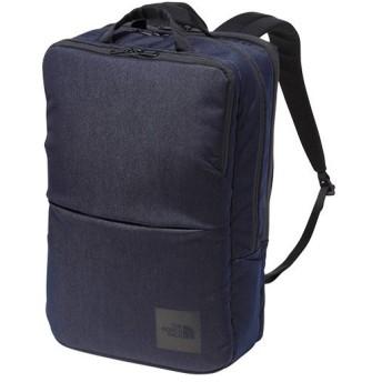 ノースフェイス(THE NORTH FACE) アウトドア シャトルデイパック Shuttle Daypack リジットデニム NM81863 RD ビジネスバッグ リュック スクエアバッグ 鞄