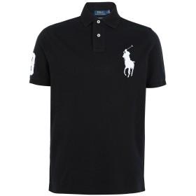 《セール開催中》POLO RALPH LAUREN メンズ ポロシャツ ブラック XS コットン 100% Custom Fit Big PP Polo