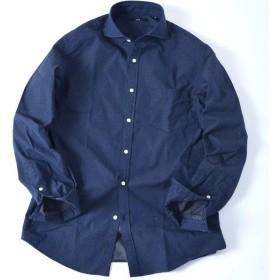 [マルイ]【セール】SC: ドビー ドット セミワイドカラー シャツ/シップス(メンズ)(SHIPS)