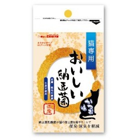 【C】DRS.CHOICE おいしい納豆菌 猫専用 ふりかけタイプ かつお味 80g
