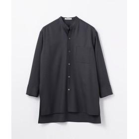 TOMORROWLAND / トゥモローランド ウール サイドスリットロングシャツ