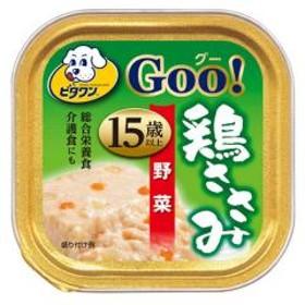 ビタワングー 鶏ささみ 15歳以上 野菜入り 90g 24個 ドッグフード ビタワン 超高齢犬用