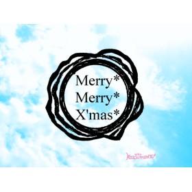 メリークリスマス ☆ シーリングワックス型 スタンプ クリスマスカードやラッピングに☆ はんこ