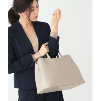 MARCO BIANCHINI / レザー トートバッグ レディース トートバッグ GREIGE ONE SIZE