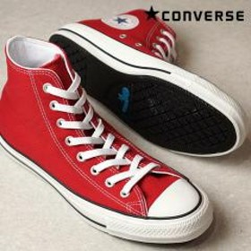【SALE】コンバース オールスター 100 カラーズ ハイカット レッド CONVERSE ALL STAR 100 COLORS HI (32960562 SS17)