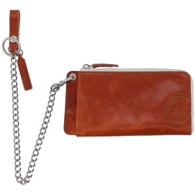 《期間限定セール中》DSQUARED2 メンズ 財布 タン 柔らかめの牛革