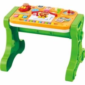 送料無料 アンパンマン よくばりテーブル おもちゃ こども 子供 知育 勉強 ベビー 0歳6ヶ月~
