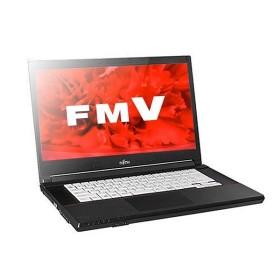 ノートパソコン office付き 新品 同様 富士通 FMV LIFEBOOK A576/S 15.6型 Celeron FMVA2400V KINGSOFT Office HD 500GB Windows10 PC 安い 訳あり