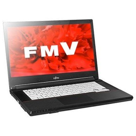 ノートパソコン office付き 新品 同様 富士通 FMV LIFEBOOK A576/S 15.6型 Celeron FMVA2400V KINGSOFT Office HD 500GB Windows10 PC 安い 訳あり