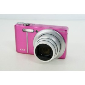 【中古】【特価】RICOHリコー コンパクトデジタルカメラ 1000万画素 CX4 ピンク 光学10.7倍ズーム 高速連写