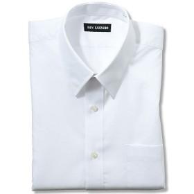 【メンズ】 出張や洗い替えにも便利!形態安定Yシャツ(長袖)(S-5L) ■カラー:ホワイトA(レギュラー衿) ■サイズ:S,3L,4L,5L,M,L,LL