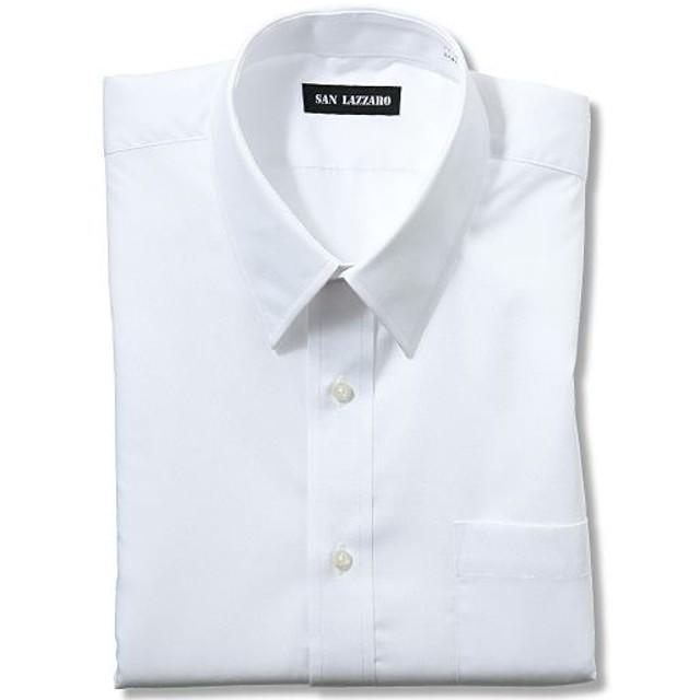 【メンズ】 出張や洗い替えにも便利!形態安定Yシャツ(長袖)(S-5L) ■カラー:ホワイトA(レギュラー衿) ■サイズ:5L,LL,L,3L,M,4L,S