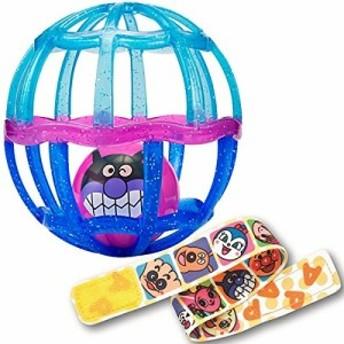 アンパンマン ストラップ付きしゃかしゃかボール(クリアブルーベリー) おもちゃ こども 子供 知育 勉強 ベビー 0歳2ヶ月~