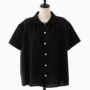 <akisaka/アキサカ> the design of sleep pajamas collection pajama short sleeve shirt (Aa-B004) クロ 【三越・伊勢丹/公式】