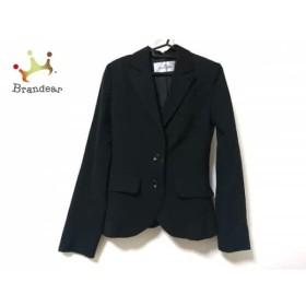 ビアッジョブルー Viaggio Blu ジャケット レディース 黒 肩パッド           スペシャル特価 20190815【人気】