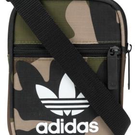 Adidas カモフラージュ ショルダーバッグ - グリーン