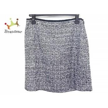 ドレステリア DRESSTERIOR スカート サイズ38 M レディース 美品 黒×白 ラメ             スペシャル特価 20200118