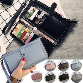 長財布レディース 薄い財布 極スリム 薄型トラベル カードケース ミニ財布 旅行財布 おしゃれ