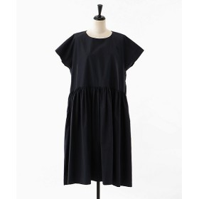 <akisaka/アキサカ> French sleve dress (Ca-O002) ネイビー 【三越・伊勢丹/公式】