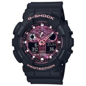 カシオGショック アナログ・デジタル腕時計 CASIO G-SHOCK  GA-100TCB-1AJR SAKURASTORM SERIES メンズ 国内正規品