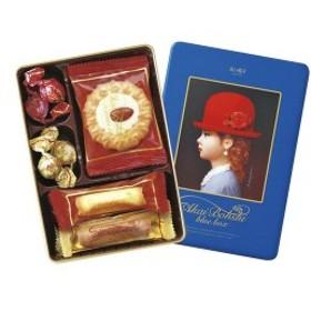 赤い帽子 ブルー (16391)