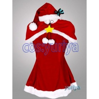 VOCALOID 初音ミク クリスマス サンタクロース(Ver.2) コスプレ衣装