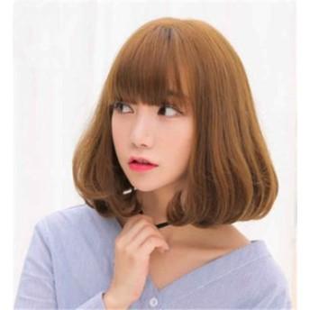 レディースウィッグ ファッション パーマ 襟足ウィッグ フルウィッグ かつら wig ゆる巻き つけ毛 盛り 女性 レディースウィッグ