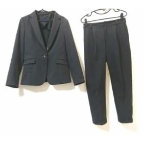 エストネーション ESTNATION レディースパンツスーツ サイズ40 M レディース ダークグレー【中古】