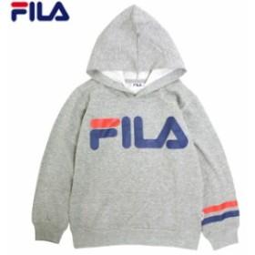 FILA(フィラ) パーカー 男の子 子供 キッズ ジュニア 起毛 スウェット 130cm 140cm 150cm 160cm