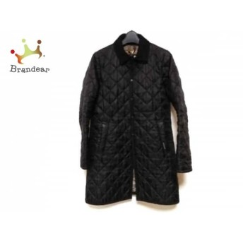 ラベンハム LAVENHAM コート サイズ38 M レディース 黒 キルティング/冬物 スペシャル特価 20190905