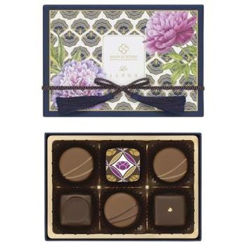 バレンタイン VALENTINE チョコレート 2019 セゾン ド セツコ ル ジャポン 緑茶と楽しむショコラ 6個入 本命 チョコ