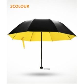 傘 無地 さわやか レディース ファッション 黒膠 晴雨兼用 超軽量 折りたたみ傘 遮光 防風 シンプル 日焼け防止 UVカット 日傘 雨傘 傘