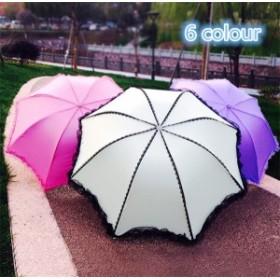 傘 レース レディース ファッション 晴雨兼用 超軽量 三折りたたみ傘 遮光 防風 レディース 日傘 雨傘 黒膠 日焼け防止 UVカット 傘