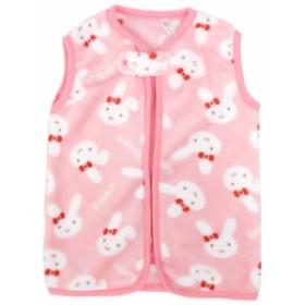 新生児 ベビー スリーパー マイクロファイバー ウサギ 赤ちゃん 出産祝い 着る毛布 50 60 70 80cm 全2色