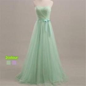 ブライズメイドドレス ファッション パーティードレス 結婚式ドレス ベルト ブライダル 着心地よい ハイセンス セール★ レディースドレ