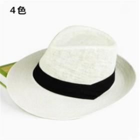 メンズ帽子 UVカット 紫外線対策 レジャー つば広 麦わら 上質 日よけ ファッション アウトドア 着心地いい セール 夏 メンズ帽子
