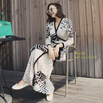 ワンピース レディース マキシワンピース オシャレ XL 上品 和式風 浴衣 女性 ロング丈 リゾート S エレガント